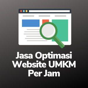 Jasa Optimasi Website UMKM Per Jam