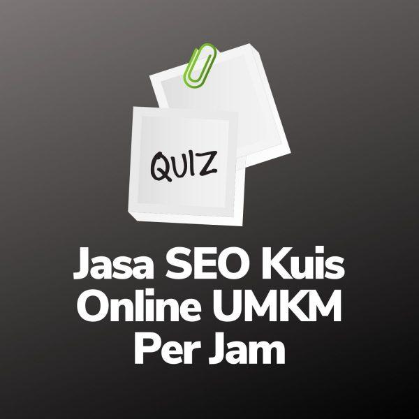 Jasa SEO Website Kuis Online UMKM Per Jam
